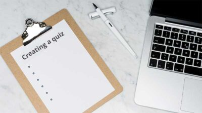 Create a quiz tutorial